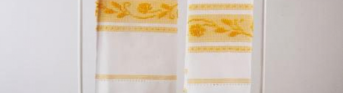 Flax and cotton towels